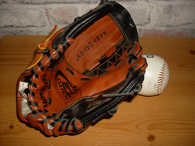 Baseball Glove  Easy Catch Web  Dual Finger Power with ball