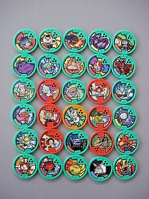 Yo-Motion Medals Series 1 - CHOOSE - combined postage - yokai yomotion yo-kai