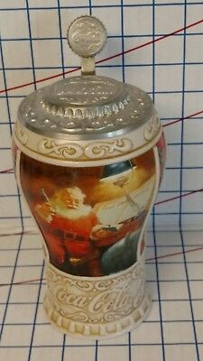 Coca Cola Christmas Stein...Good Girls and Boys...1996