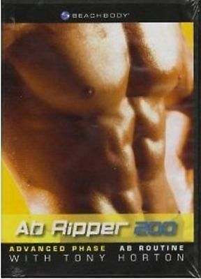Ab Ripper 200 with Tony Horton (DVD, 2005) - Usually ships within 12 hrs!!!
