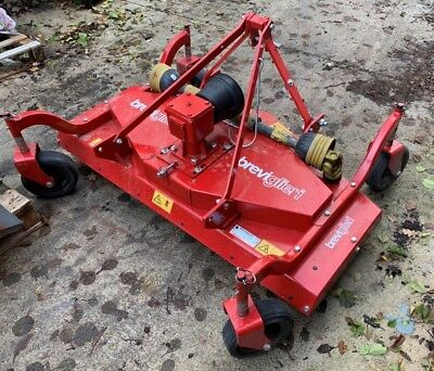 Breviglieri GREEN Finishing Mower & Mulch Kit 1.5m/5ft For Compact Tractor USED