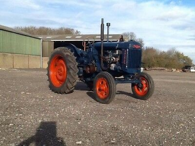 Fordson Major E27n Tractor Barn Find with hydraulics, high top, owned 15 years