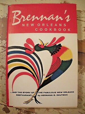 BRENNANS NEW ORLEANS COOKBOOK Louisiana French Quarter Restaurant Recipes HCDJ
