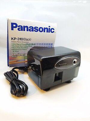 Panasonic KP-310 Electric Pencil Sharpener Auto-Stop Black