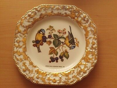 Vintage Robin Hill Country Park Isle of Wight Bird Plate Decorative Rare