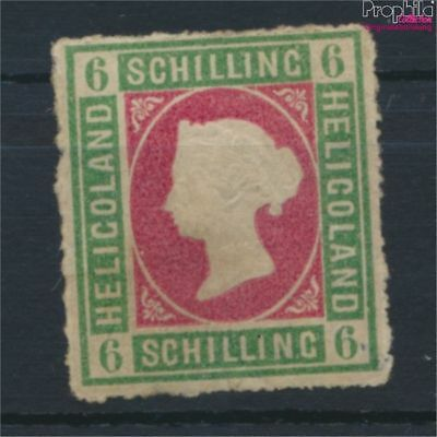 Helgoland 4 unused 1867 Queen Victoria (9252667