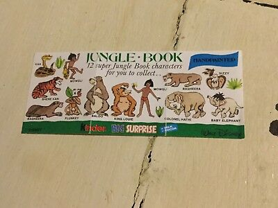 Bpz Dschungelbuch England Jungle Book