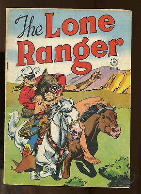 Four Color #136 Very Good- 3.5 (Vg-) 1947 Lone Ranger Dell