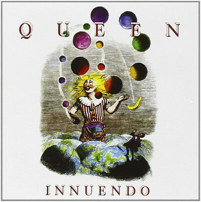 Queen Innuendo Cd New Remastered