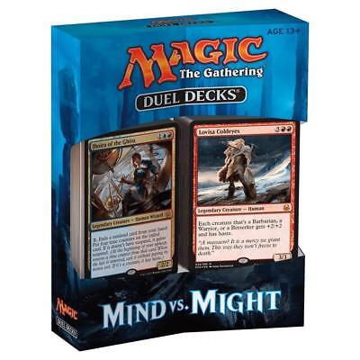 MIND VS MIGHT Duel Decks Magic the Gathering ITALIANO Planeswalker