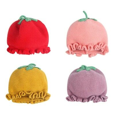 Baby's Winter Warm Hat Soft Knitting Toddler Kids Cute Cap Photography Prop New