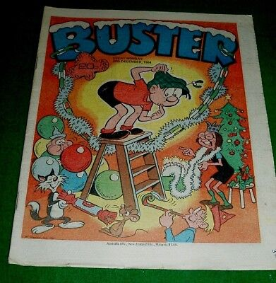 Buster Comic Christmas Issue 1984
