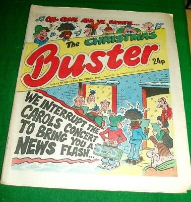 Buster Comic Christmas Issue 1986