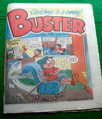 Buster Comic   Christmas Issue   24/12/1983
