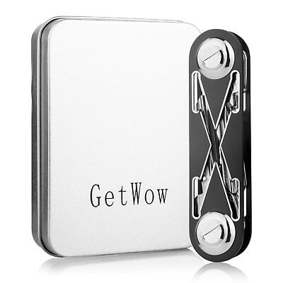 Getwow Compact Key Organizer, up to 16 Keys & Tools, Premium Key Holder, Durable