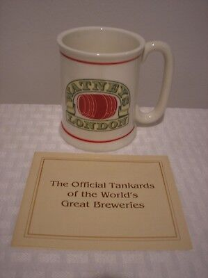 1981 Watneys Beer Franklin Porcelain Official Tankards of The World's Breweries