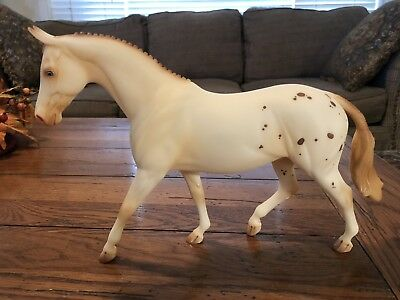 Peter Stone Pony Vaudeville Equilocity 2003 LE 1 Of 40 Made Appaloosa Red Roan