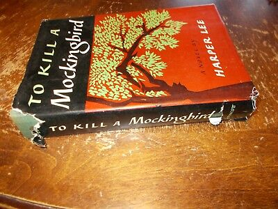 vintage To Kill a Mockingbird harper lee 1960 HC with dustcover book