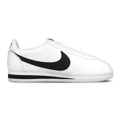 buy online 17638 a7b0c ... inexpensive nike classic cortez leather 749571 100 bianco nero mod.  749571 100 f1a43 ae06f