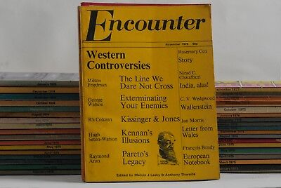 Encounter magazine May 1973- December 1985