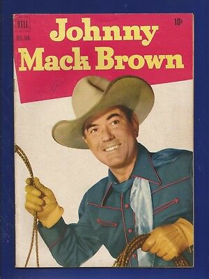 Johnny Mack Brown No.8 (1952) Dell Comics