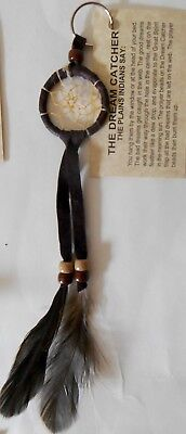 1½ inch Dream Catcher Key Ring Certified American Navajo Indian by Mae Stone