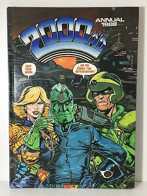 2000 Ad Annual 1988 Judge Dredd Strontium Dog Abc Warriors