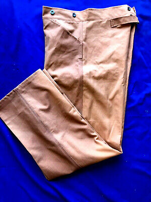 US Army M1885 Brown Canvas Trousers size 32