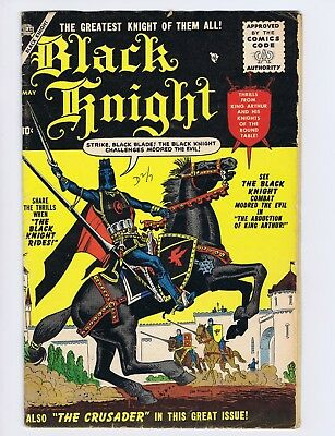 Black Knight #1 (small coupon missing; o/w G+) Maneely; Atlas; 1955 (c#21342)