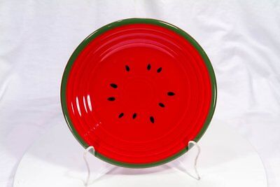 Fiesta Ware Luncheon Plate - Scarlet - Watermelon Limited Edition