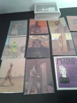 Moebius Jean Giraud Collector Cards By Comic Images 1993