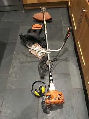 STIHL FS80 Petrol Strimmer With Harness And Ear Defenders