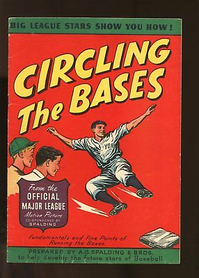 Spalding Circling The Bases Very Good / Fine 5.0 1947