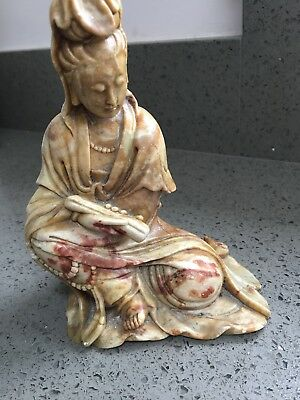 Antique Chinese Lady Statue Figurine