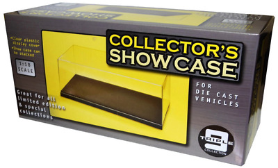 Triple 9 18000 Stackable Display Case for 1:18 Scale Cars (Pack of 6)