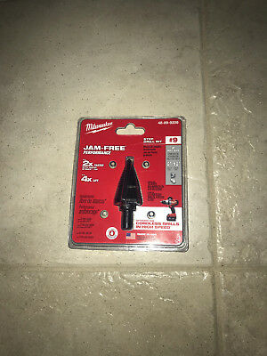 Milwaukee 48-89-9209    7/8 in. /  1-1/8 in.   #9 Step Drill Bit
