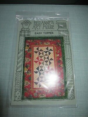 Easy Topper Quilt Pattern By Suzanne's Art House - Sewing, Quilting
