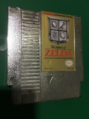 The LEGEND OF ZELDA cosmetic flaws ORIGINAL NINTENDO GAME SYSTEM CLASSIC NES HQ