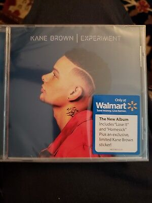 KANE BROWN Experiment CD Brand new Walmart Exclusive with sticker