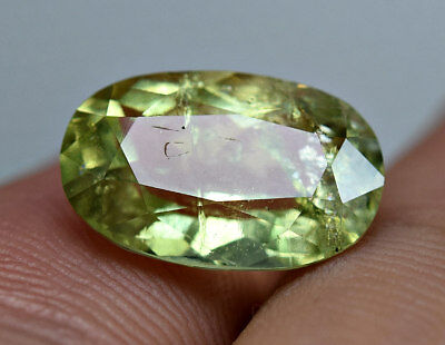 3.50 CT Extremely Rare Highest Quality Color Dravite Tourmaline Cut Gemstone@AFG