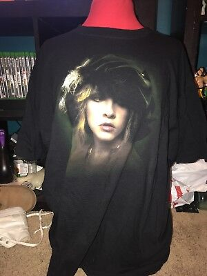 Rare Vintage Concert Tour T Shirt Stevie Nicks Fleetwood Mac 2XL 2000s 1990s