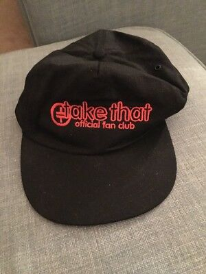 Take That Official Fan Club Baseball Cap Hat Vintage