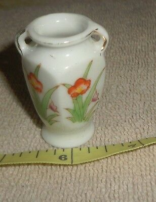 "Dollhouse miniature accessories 2"" Tall Ceramic Vase  made in Japan"