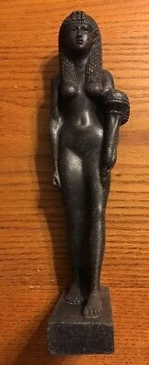 Ancient Egyptian Reproduction Cleopatra Statue Hermitage Museum Replica