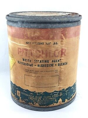 Pittchlor Advertising Can Decoration USA Gas And Oil Large