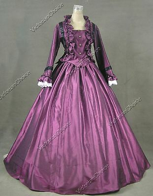 Victorian Charles Dickens Christmas Caroler Dress Gown Theater Costume N 170 XXL