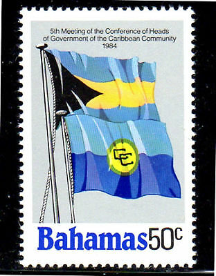 Bahamas #563  1984  Flags   Mint  Vf Nh  O.g
