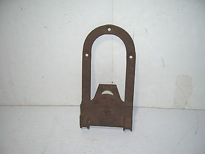 Antique  Barn Door Hanger Roller Industrial Steampunk