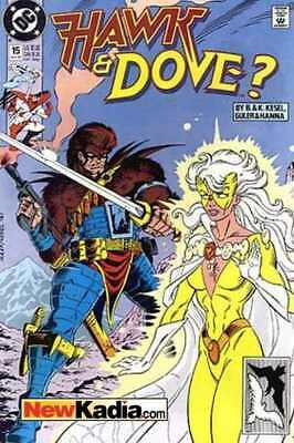 Hawk and Dove (1989 series) #15 in Near Mint condition. DC comics