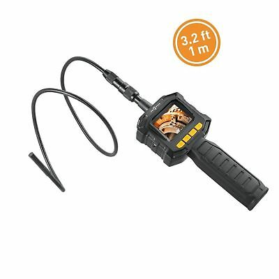 Handheld HD Borescope Inspection Camera with Color LCD Screen, IFM Optics Dig...